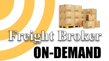 Freight Broker On-Demand Training With Consulting